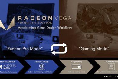 Radeon Pro Software Crimson ReLive Edition 17.10 introduce importantes mejoras de rendimiento