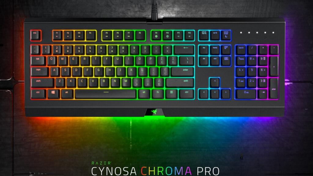 Nuevos teclados Razer Cynosa Chroma Pro; una alternativa económica 30