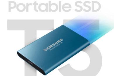 Ya puedes comprar en España el Samsung SSD T5