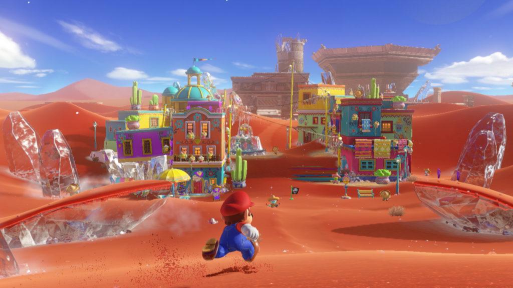 Super Mario Odyssey es una obra de arte y otra razón para comprar Nintendo Switch 29