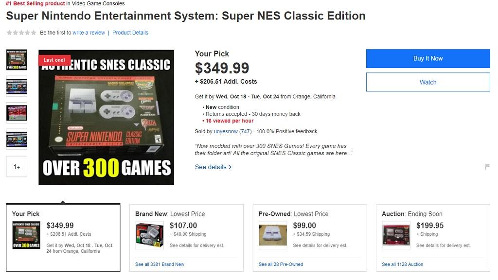 A la venta Super Nintendo Classic Mini modificadas con 300 juegos 29