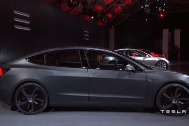 General Motors cuestiona la conducción autónoma del Model 3 de Tesla