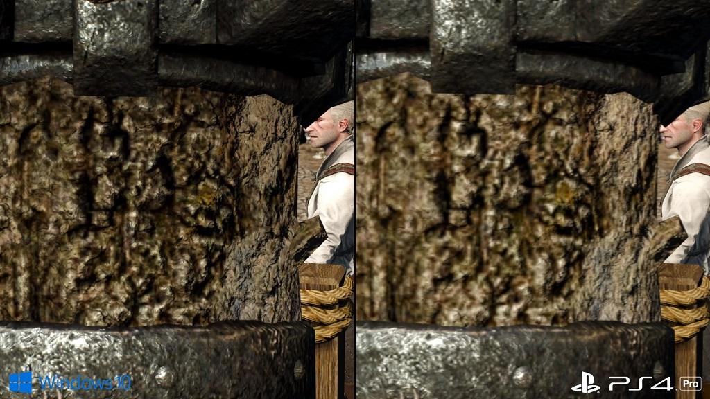 Análisis de The Witcher 3 en PS4 Pro, comparativa frente a PC 29