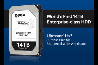 El Ultrastar Hs14 de Western Digital es el disco duro con más capacidad jamás creado