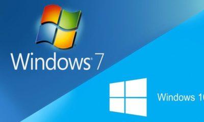 Windows 7 a Windows 10 Fall Creators Update