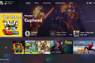 Xbox One recibe la actualización mayor Fall Update