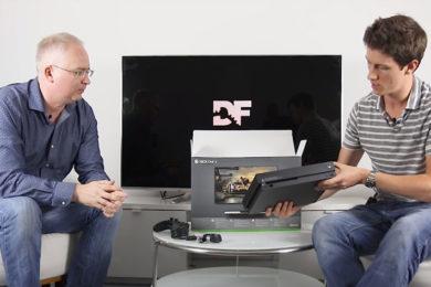 Desempaquetado de Xbox One X y comparativa con Xbox One S y PS4 Pro