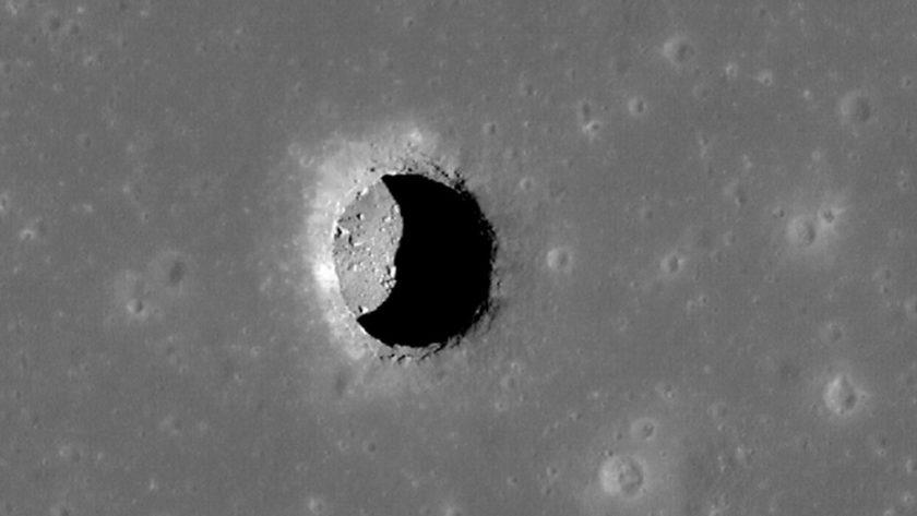 Japón descubre cueva en la Luna que podría acoger una base humana