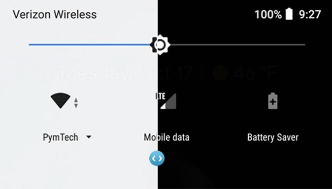 Los Pixel 2 y Pixel 2 XL tienen un tema oscuro, y así es como se activa 33