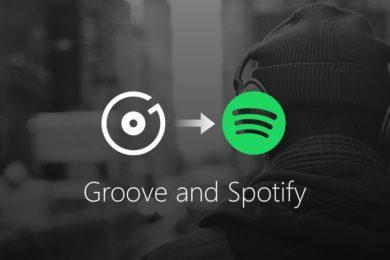 Microsoft cierra Groove Music y recomienda Spotify