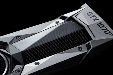 NVIDIA anuncia la GTX 1070 TI, especificaciones
