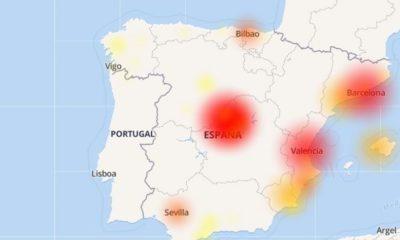 Un fallo masivo en Movistar deja a media España sin Internet 98