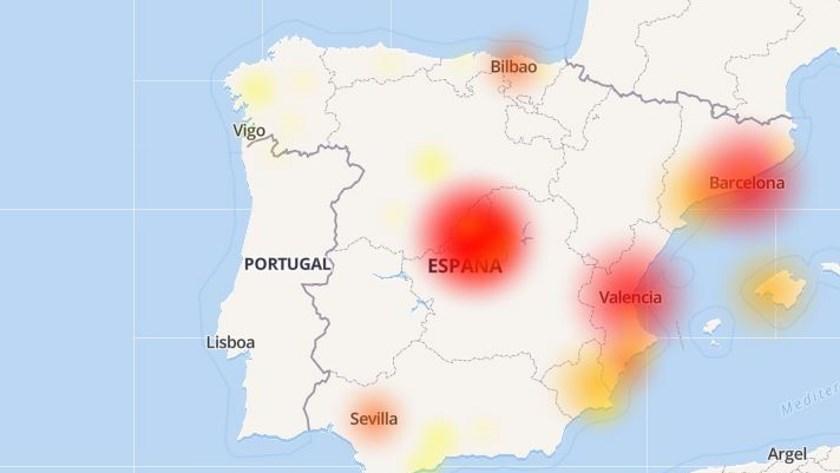 Un fallo masivo en Movistar deja a media España sin Internet 33