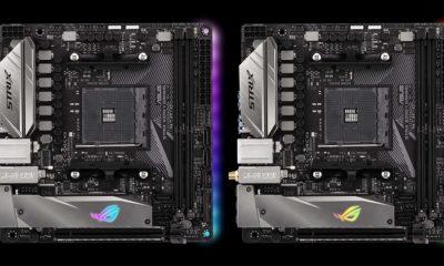 ASUS anuncia dos nuevas placas mini ITX AM4 para Ryzen 93