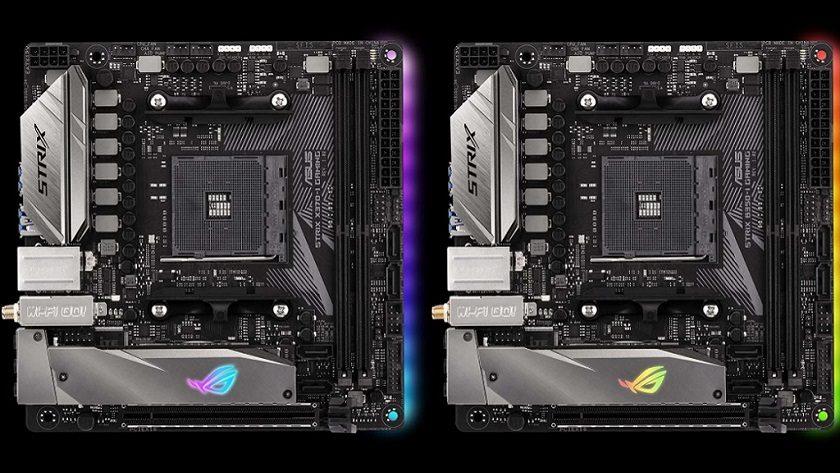 ASUS anuncia dos nuevas placas mini ITX AM4 para Ryzen