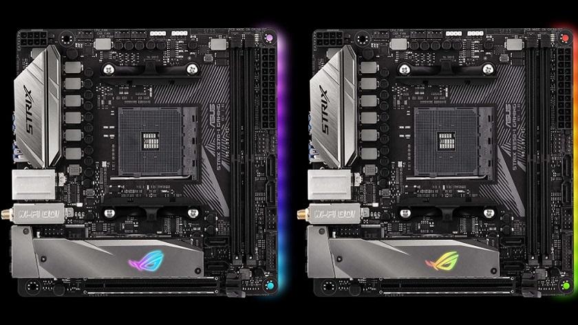ASUS anuncia dos nuevas placas mini ITX AM4 para Ryzen 29
