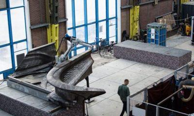 Holanda construirá un puente de acero inoxidable impreso en 3D 44