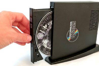 Así es Sedi, un sistema retro con lector de CD que puede mover juegos de diferentes consolas