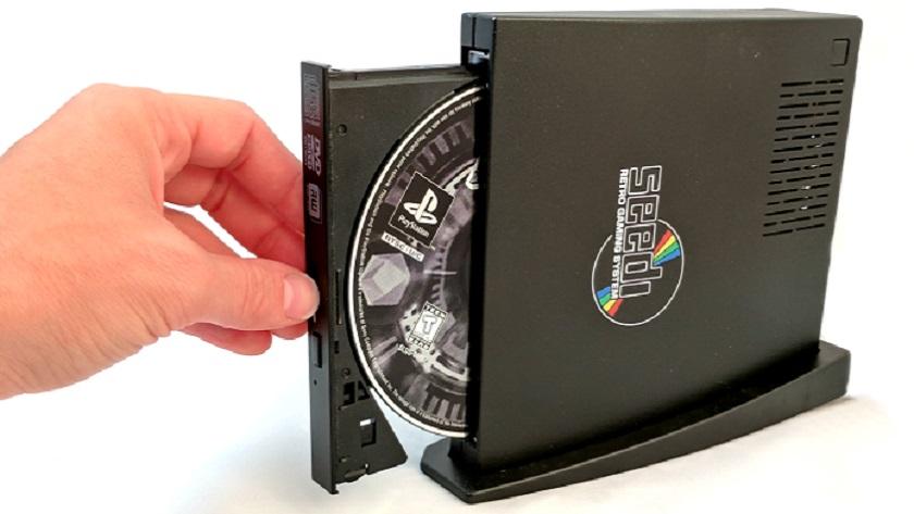 Así es Sedi, un sistema retro con lector de CD que puede mover juegos de diferentes consolas 30