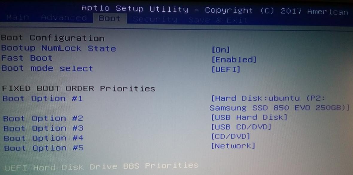 Windows 10 y Ubuntu 17