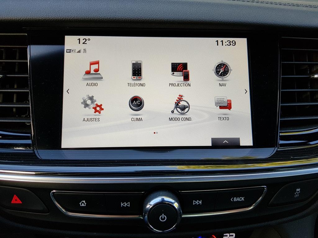 Opel Insignia 2017, agazapado 46