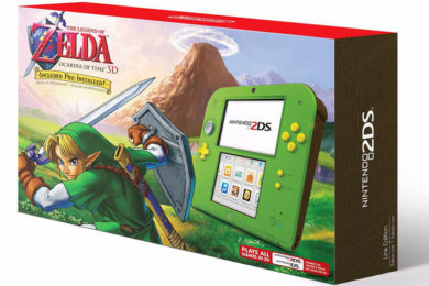 Nintendo anuncia una 2DS Zelda para el Black Friday 2017