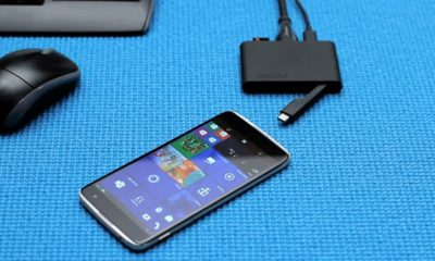 "Alcatel IDOL 4S; un ""superphone"" con Windows 10 Mobile a precio de saldo 33"
