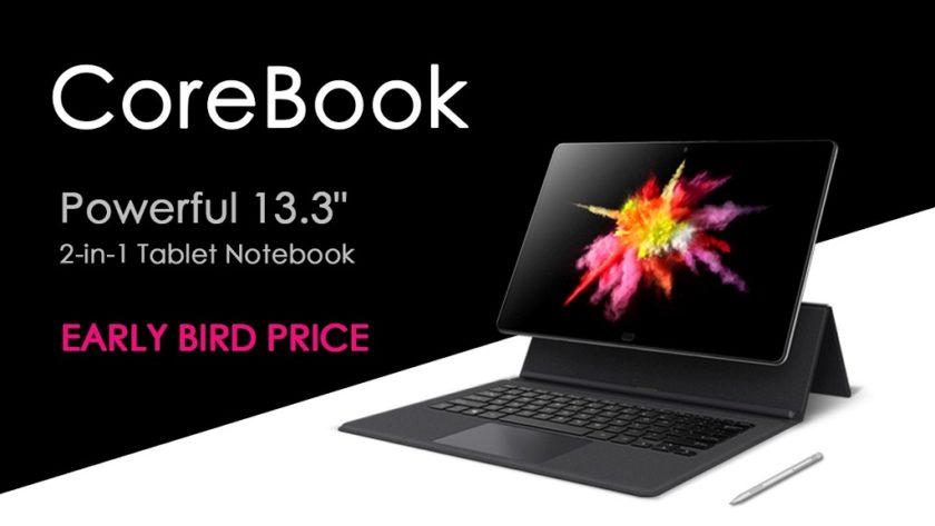 Chuwi elevará la RAM del CoreBook de 6 GB a 8 GB 29