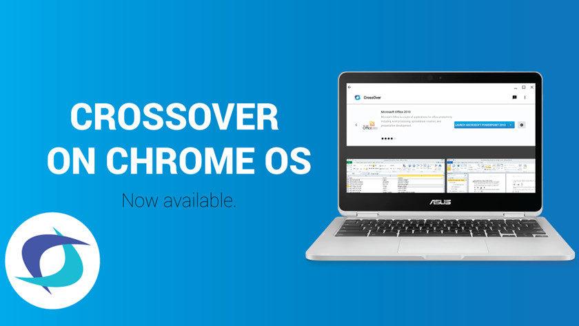 CrossOver para Chrome OS permite ejecutar aplicaciones Windows en Chromebooks