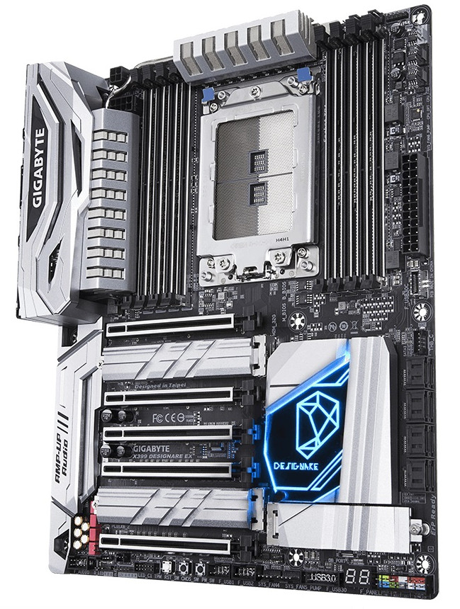GIGABYTE presenta la Designare EX, una placa X399 optimizada para AMD Threadripper 36