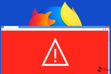 Firefox Quantum informará si un sitio web ha sido hackeado