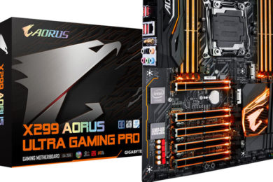 GIGABYTE presenta la placa base Aorus X299 Ultra Gaming Pro