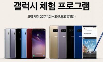Samsung permite probar los Galaxy S8 y Note 8 durante un mes 73