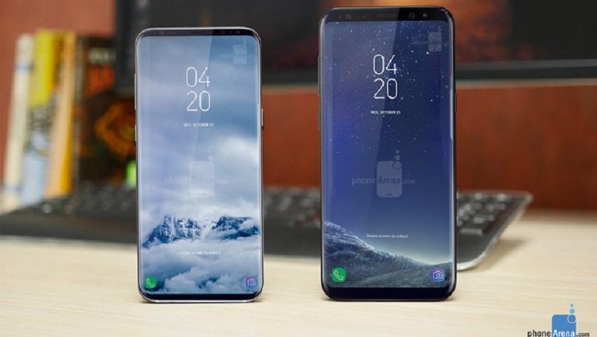 Los Galaxy S9 y Galaxy S9+ reducirán los bordes al mínimo 30