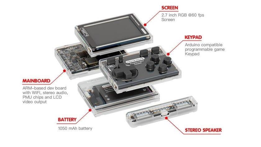 Crea tu propia consola portátil en dos minutos con GameShell 30