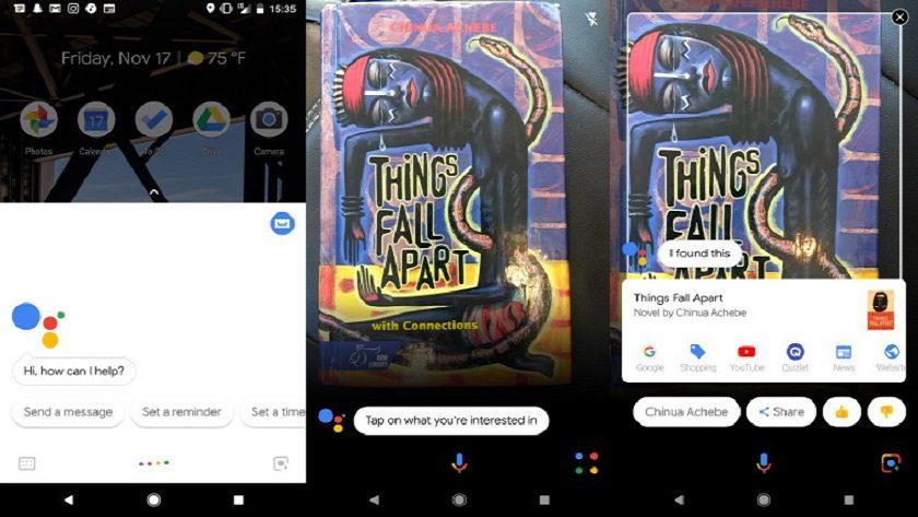 Google Lens empieza a llegar a los Google Pixel 2 y Google Pixel 2 XL