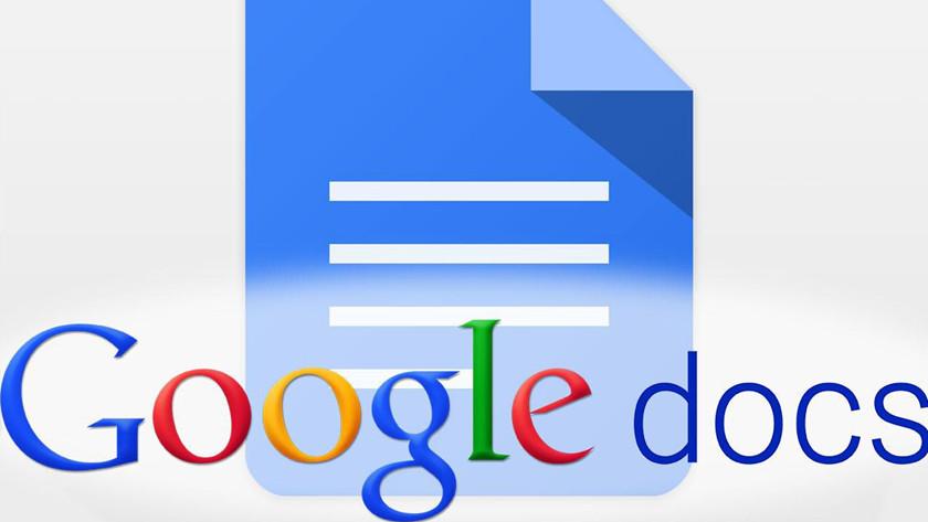 fallo en Google Docs