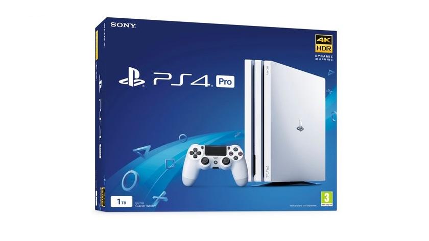 Sony responderá a Xbox One X con... Una PS4 Pro de 1 TB en color blanco 37