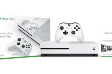 Ya está disponible la edición especial Real Madrid Xbox One S