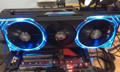 Así es la SAPPHIRE Radeon RX Vega 64 NITRO; tres conectores de 8 pines 49