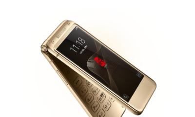 Primeras imágenes reales del Samsung W2018, nuevo smartphone tipo concha 30