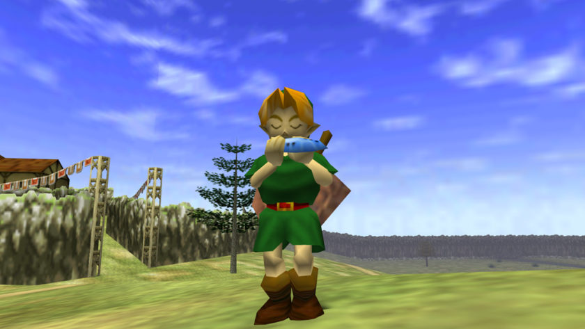 Asi luce The Legend of Zelda: Ocarina of Time bajo Unreal Engine 4