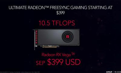 La Radeon RX Vega 56 supera a la GTX 1080 en algunos juegos, la optimización es clave 75