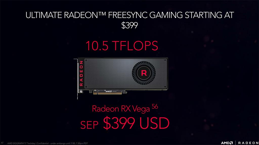 La Radeon RX Vega 56 supera a la GTX 1080 en algunos juegos, la optimización es clave 30