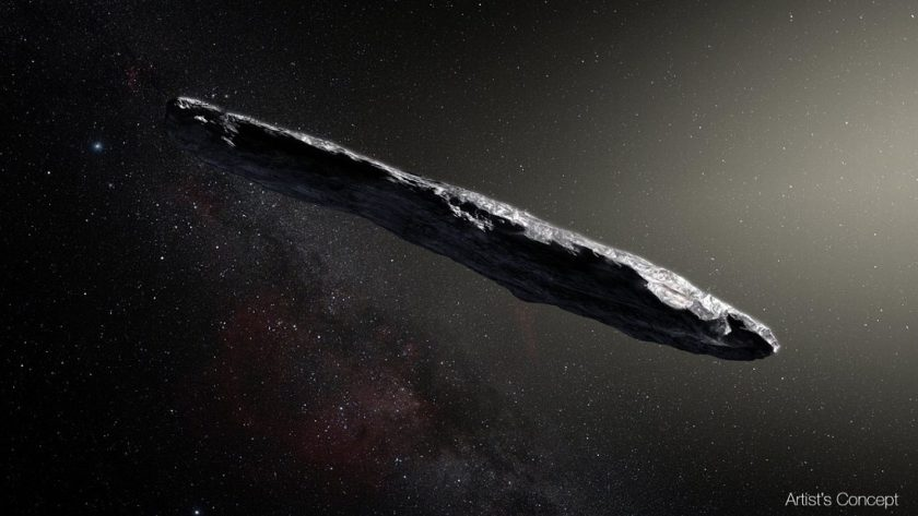 El primer asteroide interestelar que nos visita asombra a los científicos