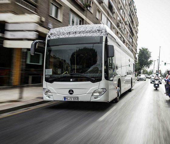 Mercedes apuesta por los autobuses eléctricos para 2018 31