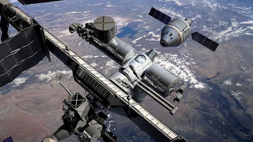 Identificada una bacteria desconocida en el exterior de la ISS