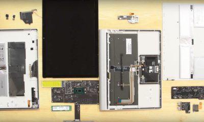 Despiece del Surface Book 2, es difícil de reparar pero el SSD se puede cambiar 64