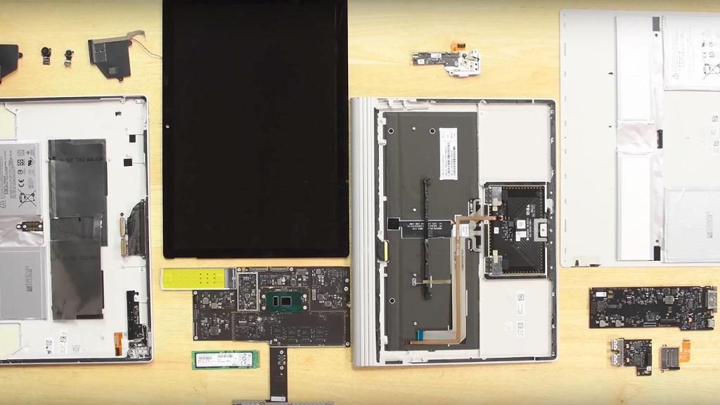 Despiece del Surface Book 2, es difícil de reparar pero el SSD se puede cambiar 30