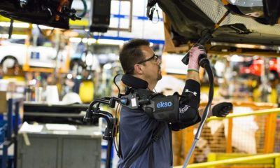 Ford quiere que sus trabajadores utilicen exoesqueletos 236